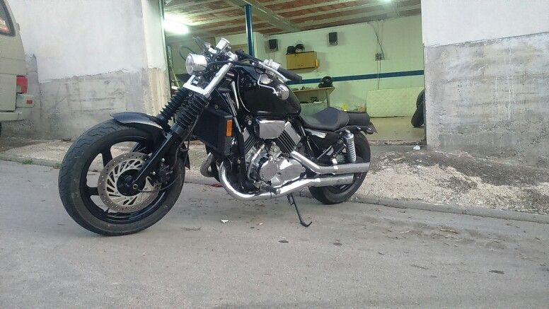 Honda Magna By Second Round Choppers Gerona