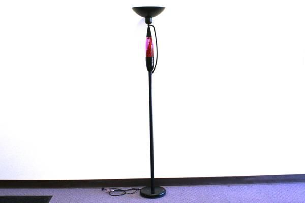 Torchiere Floor Lamp With Built In Motion Lava Lamp Lamp Torchiere Floor Lamp Floor Lamp