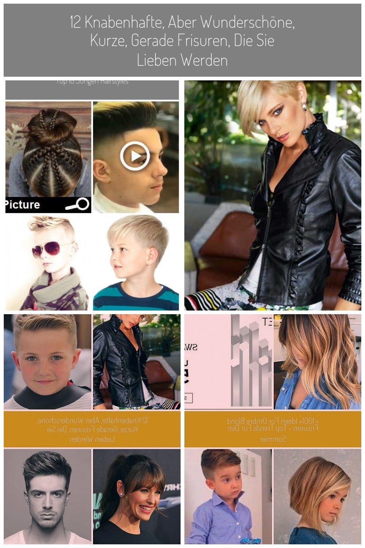 Kurze Frisuren für junge Mädchen  Leichte Frisuren für kleine