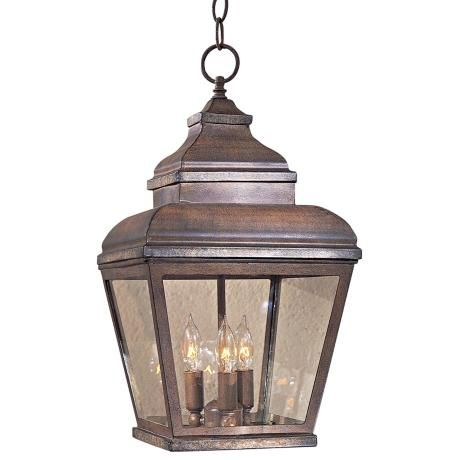 Mossoro 19 High Outdoor Indoor Hanging Light 59453 Lamps Plus Outdoor Hanging Lanterns Hanging Lights Outdoor Pendant Lighting