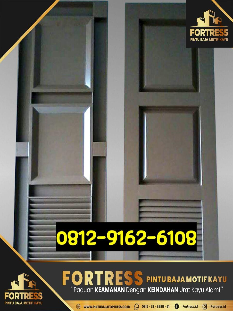 0812-9162-6109(FORTRESS) , pintu garasi minimalis besi, pint…