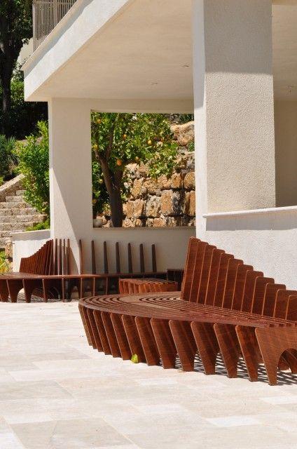 Ludovic avenel ébéniste créateur ludovic avenel banc pool house ebeniste créateur design sur