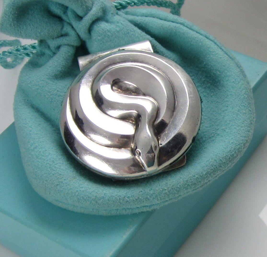 Tiffany & Co Vintage Unusual Stunning Sterling Silver Snake Serpent ...