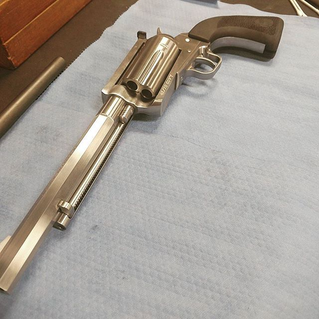 Here is a customer's custom 45-70  Featuring an octagon barrel and a