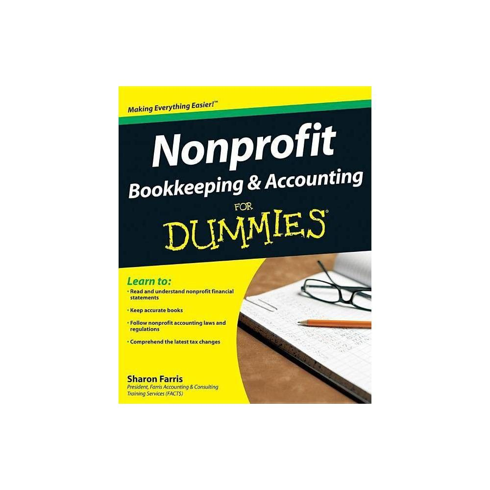 Nonprofit Bookkeeping and Accounting for Dummies (For