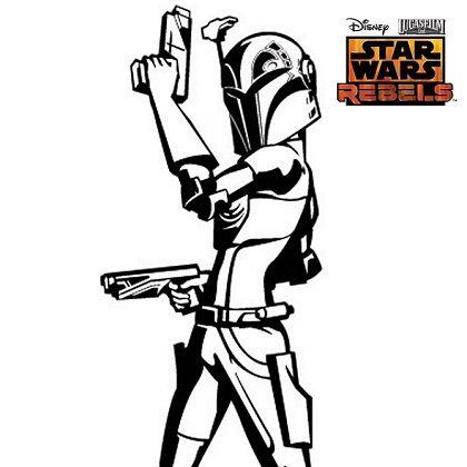 Star Wars Sabine Coloring Pages