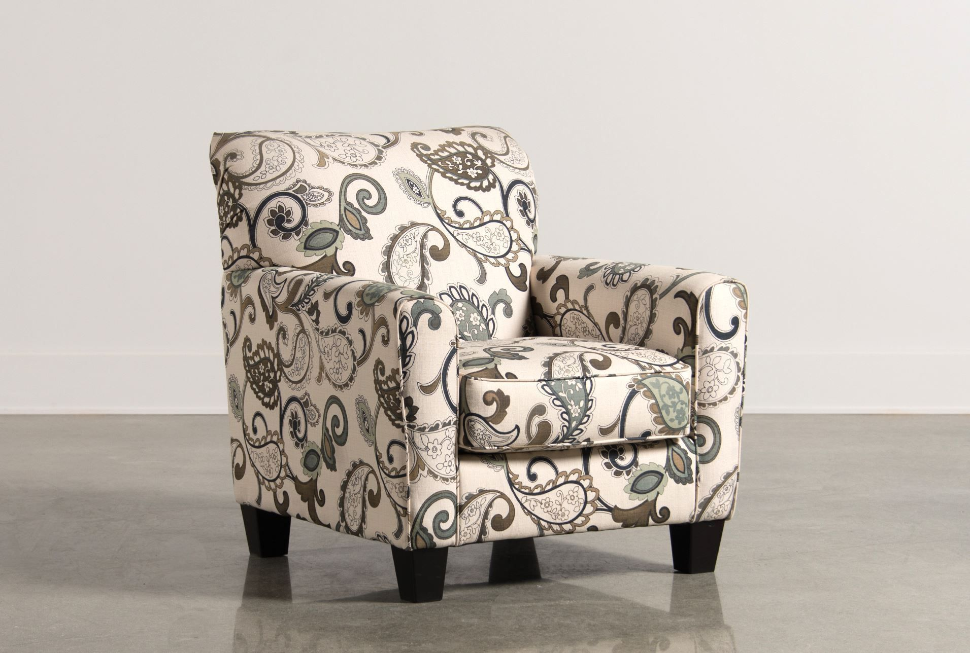 Yvette steel accent chair signature