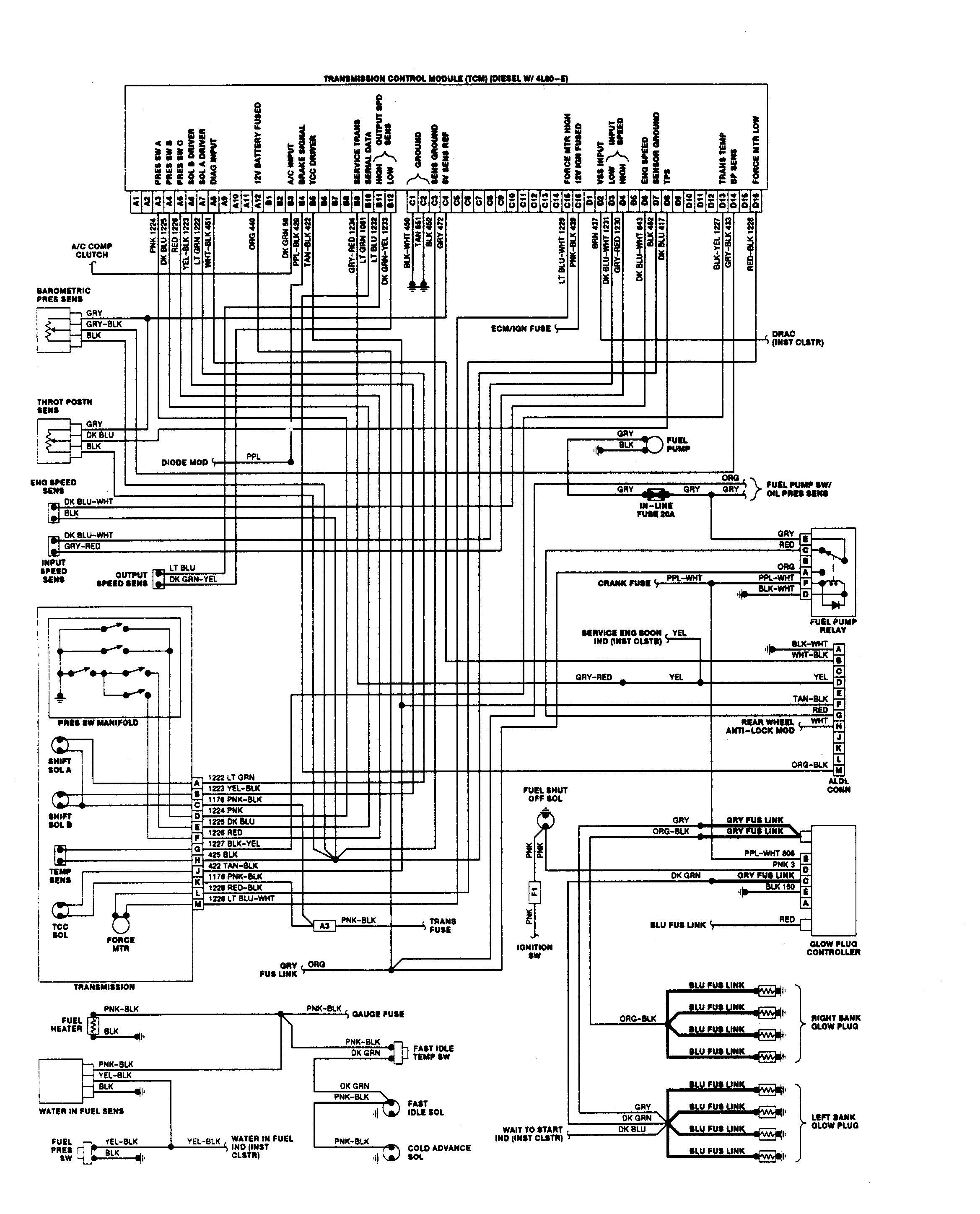 1991 Chevy P30 Wiring Diagrams