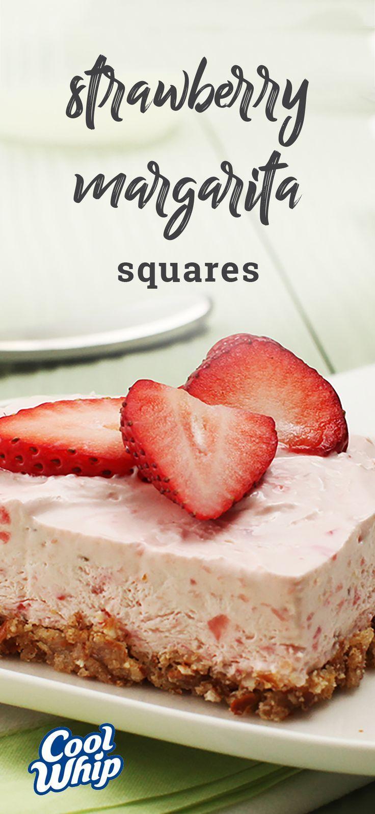Strawberry Margarita Squares – Enjoy a frozen margarita? This dessert recipe t...   - Dessert Recipes - #Dessert #Enjoy #Frozen #Margarita #recipe #Recipes #SQUARES #Strawberry #frozenmargaritarecipes