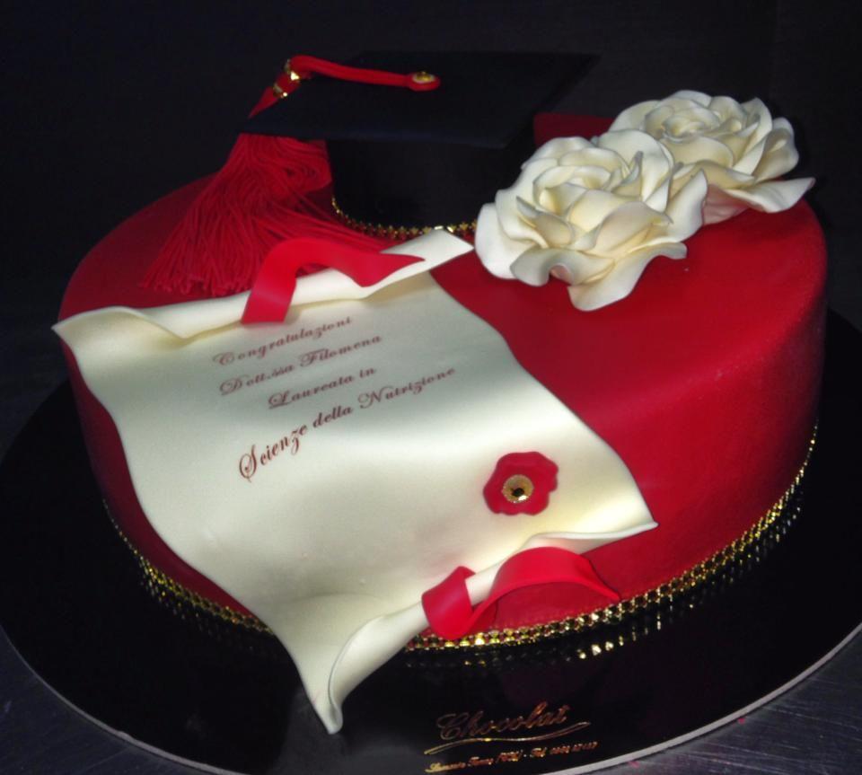 Torte Artigianali Per Laurea Laurea Pinterest Laurea