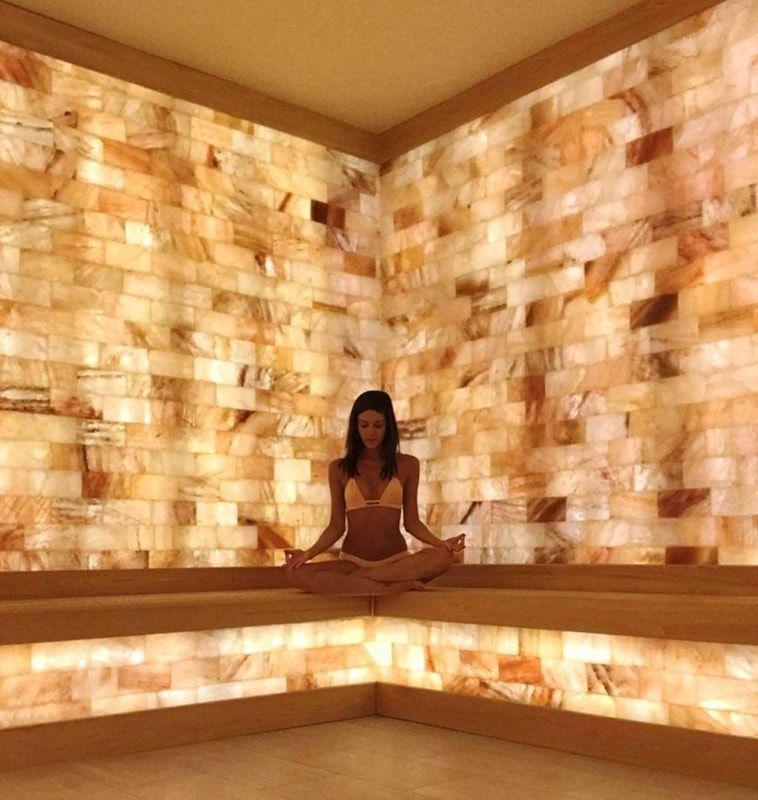 Himalayan Salt Walls Himalayan Source In 2020 Himalayan Salt Room Salt Room Salt Room Therapy