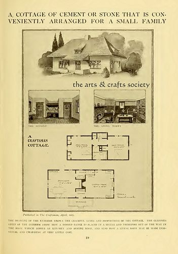 1905 1909 Craftsman Homes Craftsman House Vintage House Plans Vintage Architecture