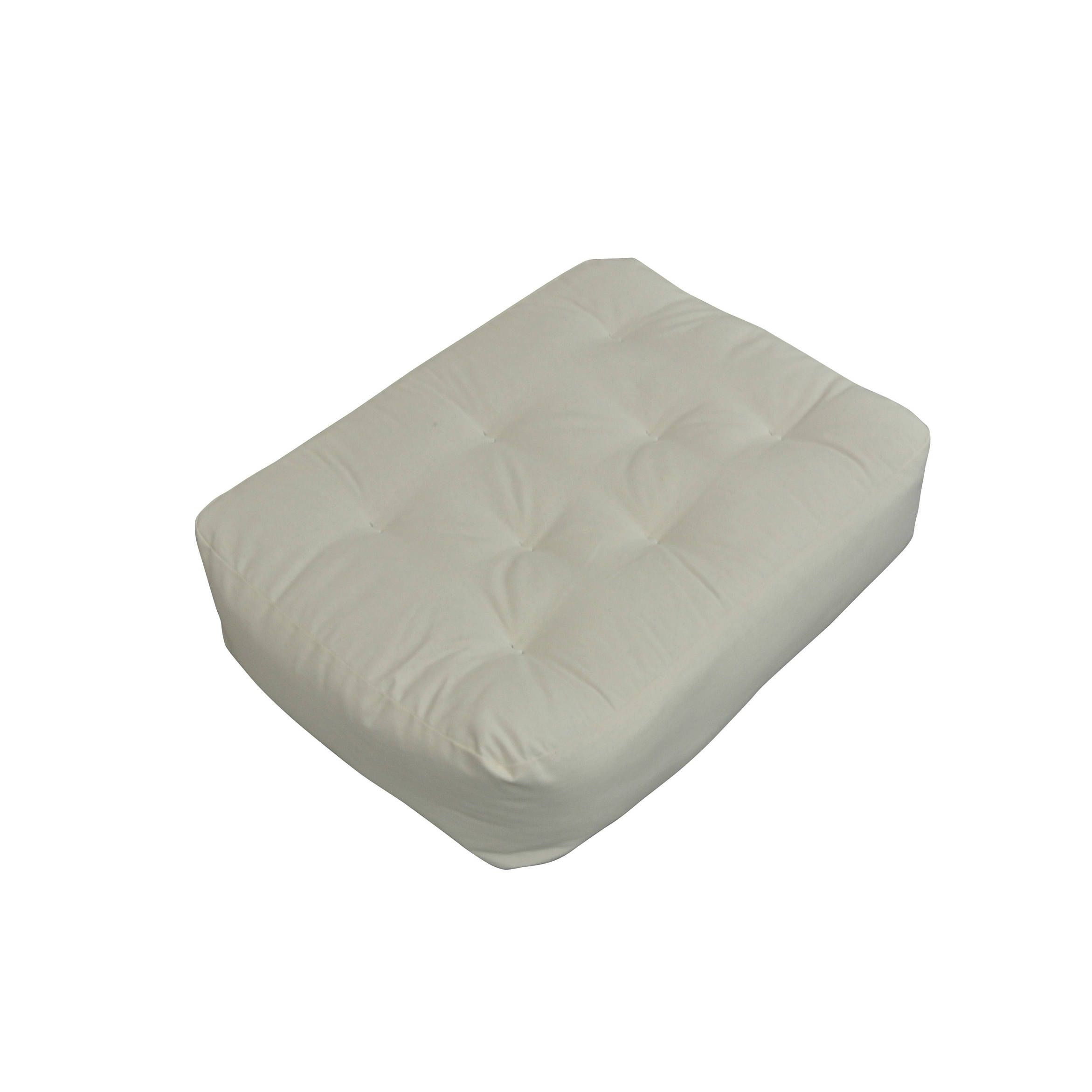 9 moonlight 21x28 chair ottoman natural futon mattress  natural   polyester blend foam  9 moonlight 21x28 chair ottoman natural futon mattress  natural      rh   pinterest