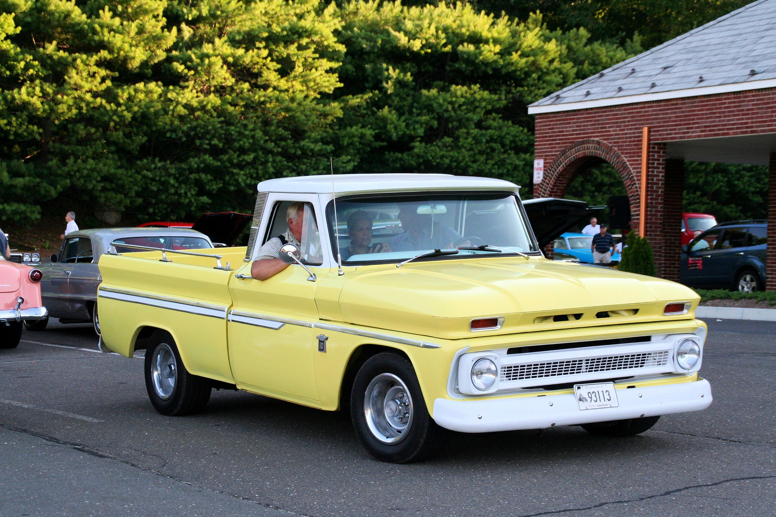 1964 Chevy C10 Custom Cab With Images Chevy Trucks Classic