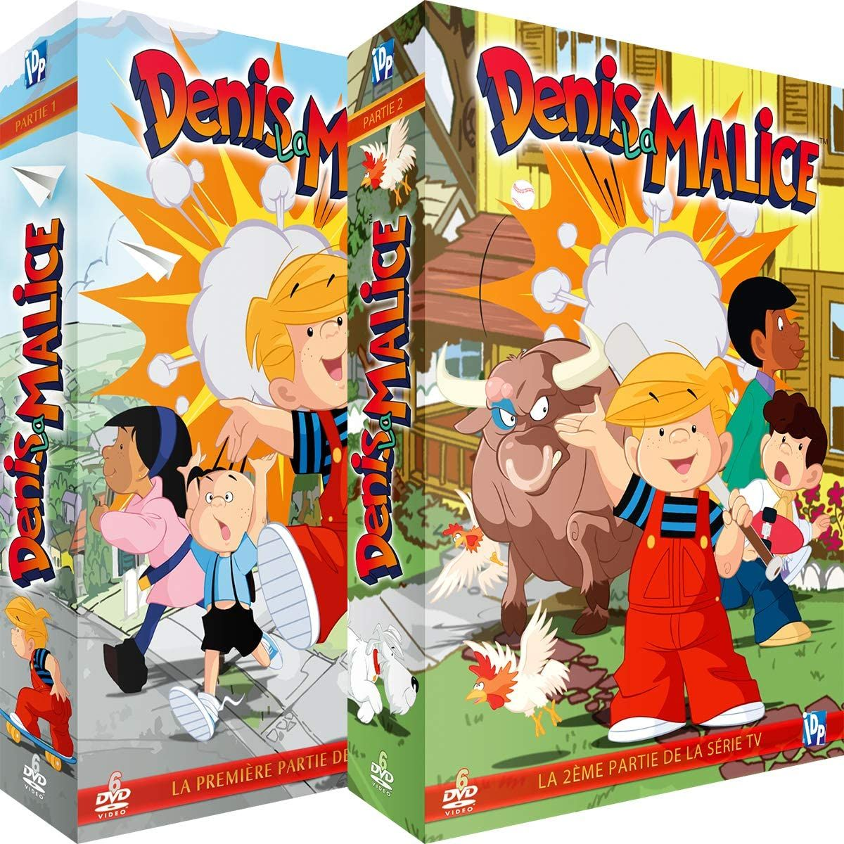Denis La Malice Integrale De La Serie Tv 2 Coffrets 12 Dvd Comme Des Garcons Dessin Anime Anime