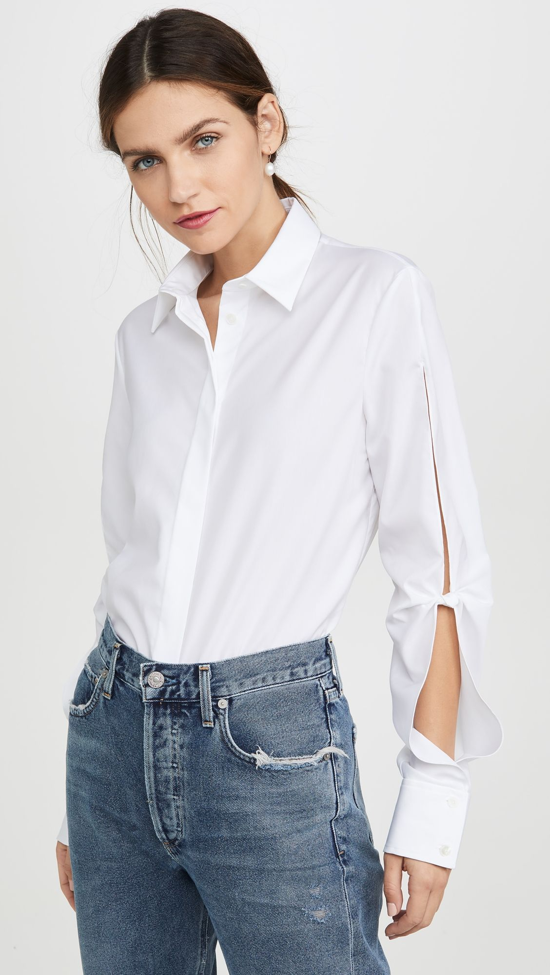 Dion Lee Hinge Knot Shirt Knotted shirt, Dion lee, Fashion