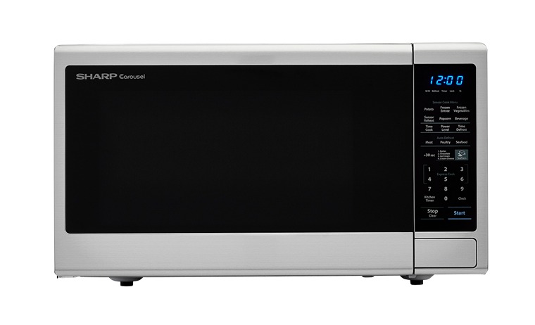 Sharp Carousel Countertop Microwave Oven 1 8 Cu Ft 1100w