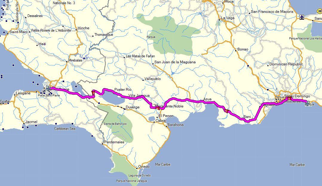 Caribbean North Garmin GPS Map  Covers northern caribbean