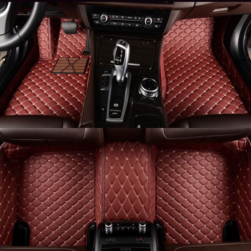 Leather Car Floor Mat Carpet Rug For Maserati Quattroporte Levante