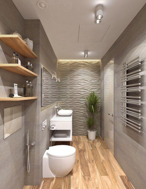 Дизайн интерьера Bad Pinterest Salle de bains, Salle et Sdb