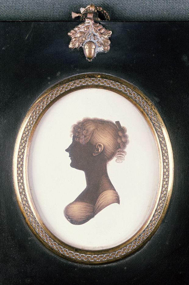 silhouette of cassandra austen 1773 1845 wsj 4 25 20 on wall street journal login id=46056