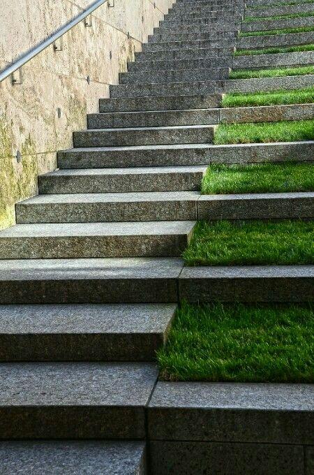 Pin de esteban m rquez torres en jardineria pinterest for Gradas exteriores