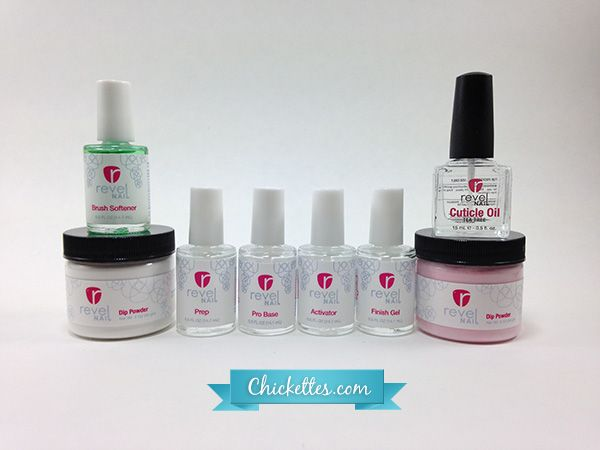 Revel Nail S Acrylic Dip System With This You Can Achieve Beautiful Overlays On Natural Nails Or Tips And