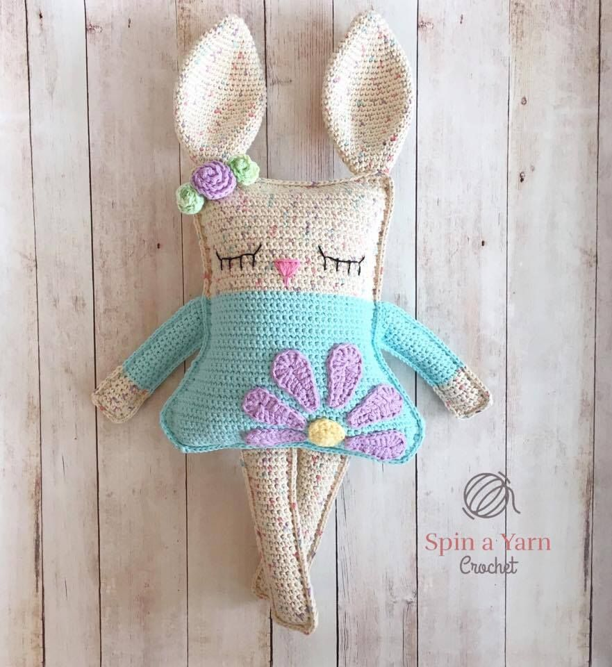 Ragdoll Spring Bunny Crochet Pattern | Crochet | Pinterest | Häkeln