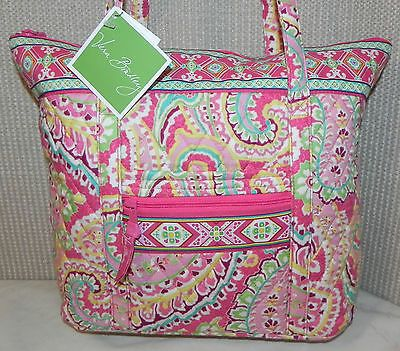 54edf39c5e VERA BRADLEY CAPRI MELON VILLAGER SHOULDER BAG NEW WITH TAG