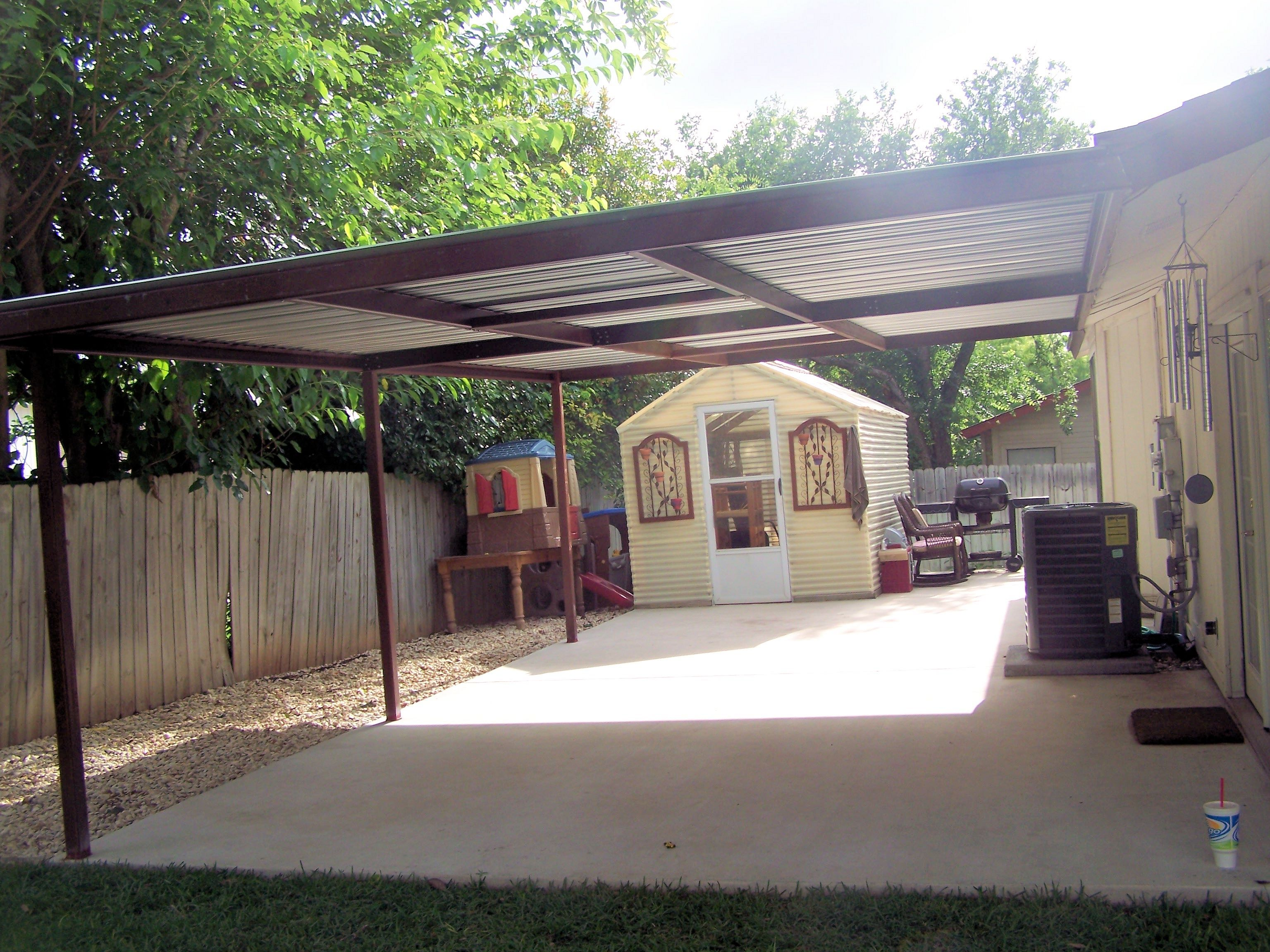 Metal Lean To Carport Plans Diy Free Download Small Curved