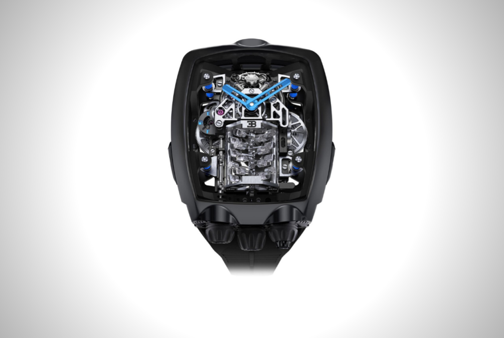 This Bugatti Chiron 16 Cylinder Tourbillon from Jacob & Co. is for automotive enthusiasts | Men's Gear