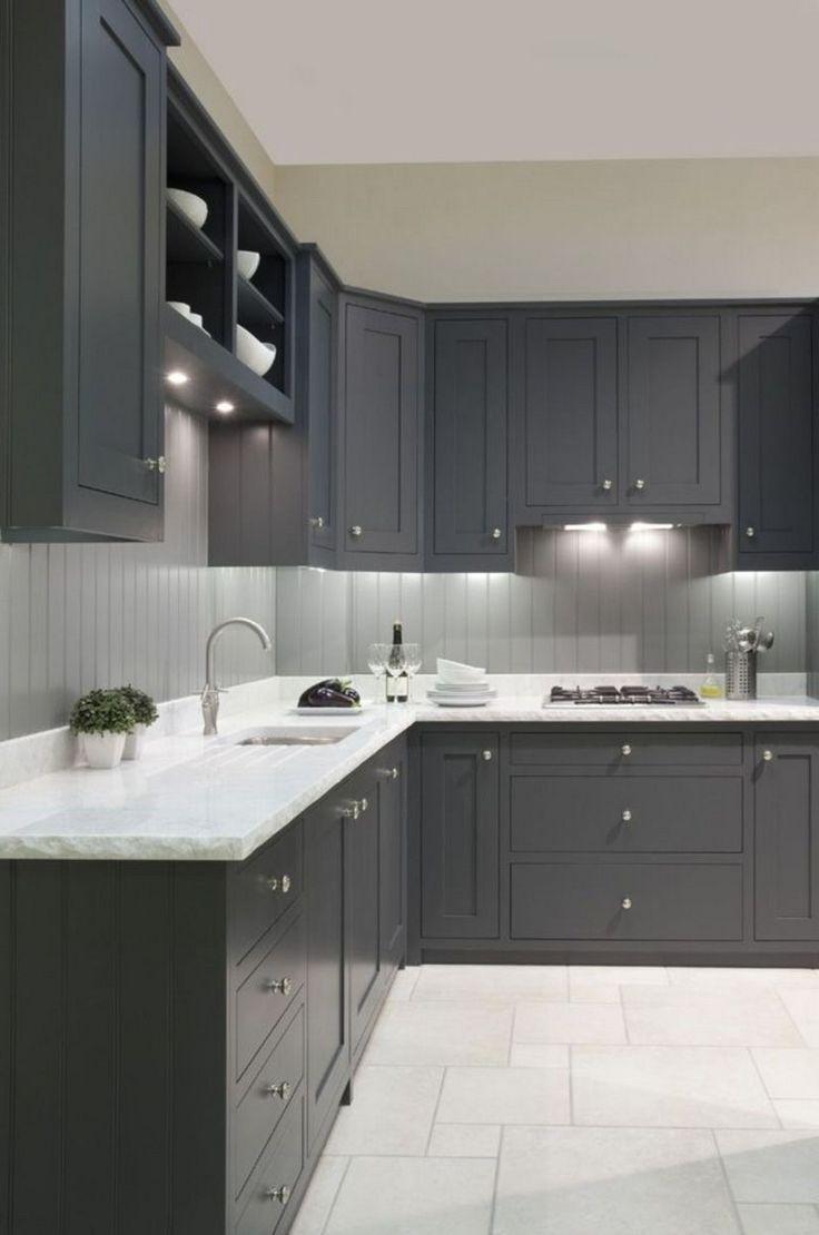 9+ Fashionable Dark Grey Kitchen Design Ideas kitchendesign ...