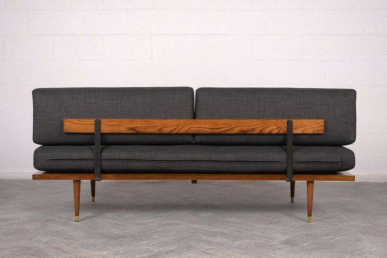 Adrian Pearsall Mid Century Modern Daybed In Excellent Condition For Sale In Los Angeles Ca Mid Century Modern