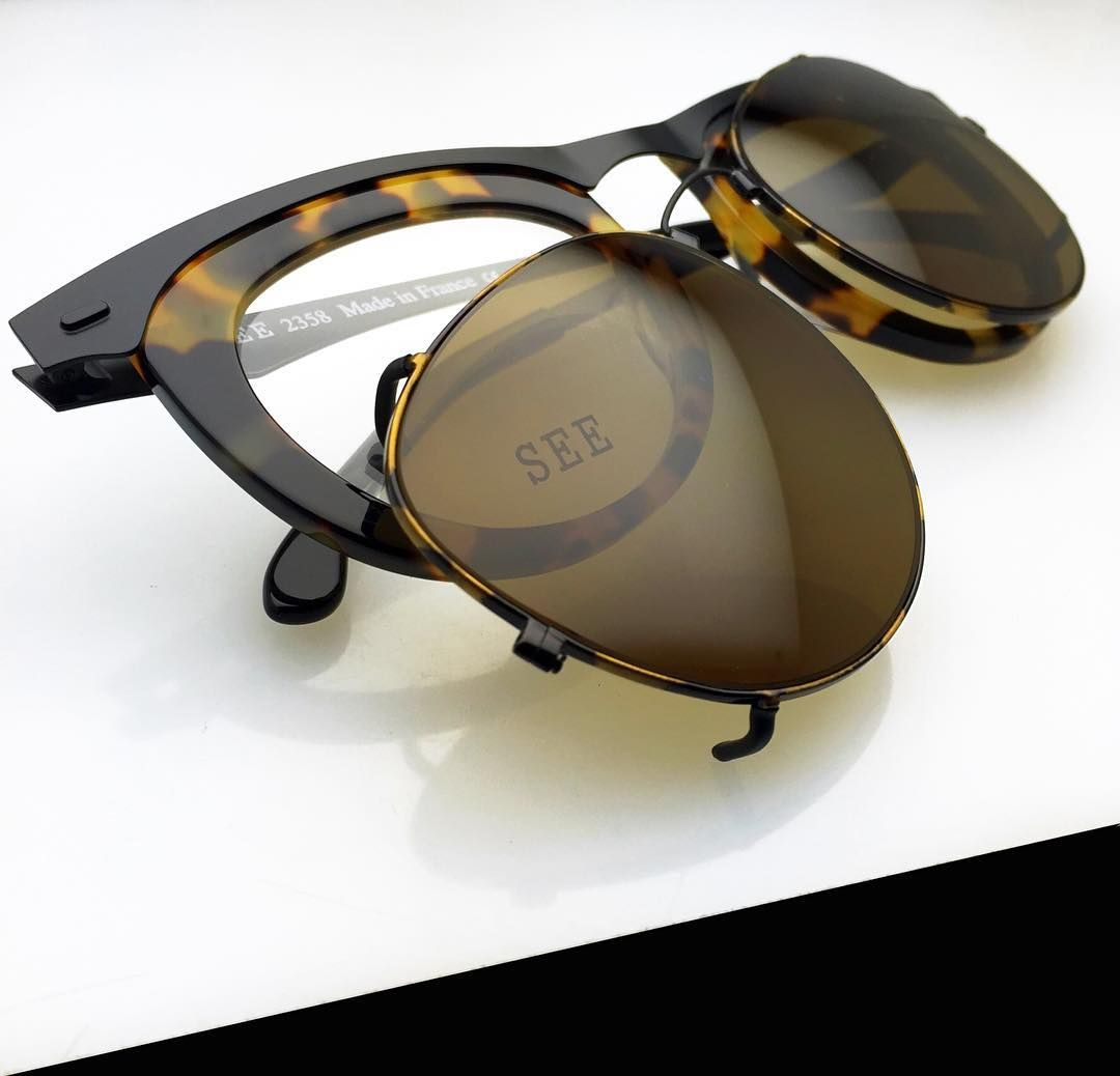 c3736ce1e3 Custom clips for any frame! From prescription  glasses to prescription   sunnies in 2.5 seconds. Stop by any SEE location for more info.