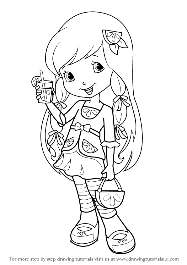 - Pin By Nora Demeter On Coloring Pages Strawberry Shortcake Coloring  Pages, Coloring Pages, Coloring Books