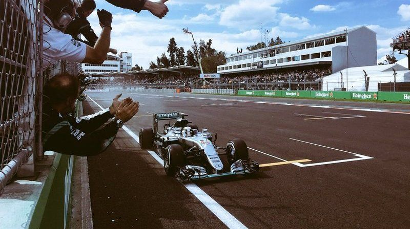 Mexican Grand Prix: Race Results