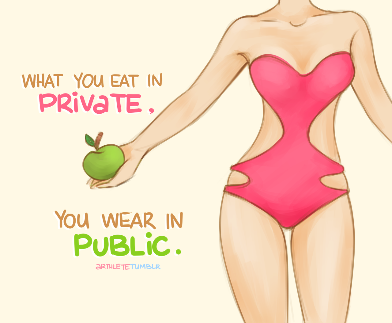 Image result for what you eat in private