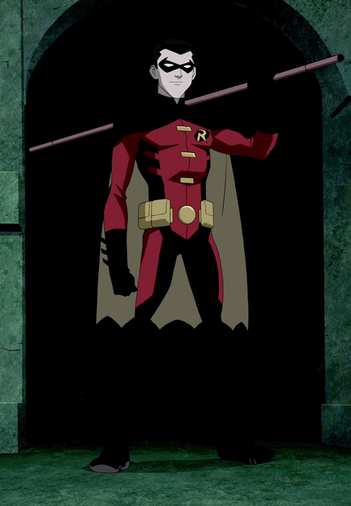 Batman DC Comics Young Justice Cosplay Red Robin Tim Drake ... |Young Justice Tim Drake Red Robin