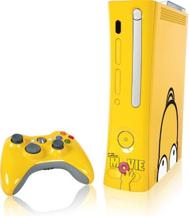 Totally Geeky Or Geek Chic Simpsons Xbox 360 Console Xbox 360 Xbox 360 Xbox