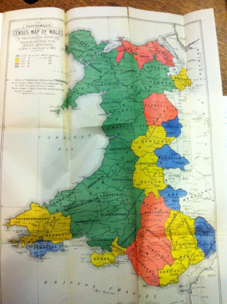Simon Brooks On Welsh Language Southall FC And Welsh - World map in welsh language