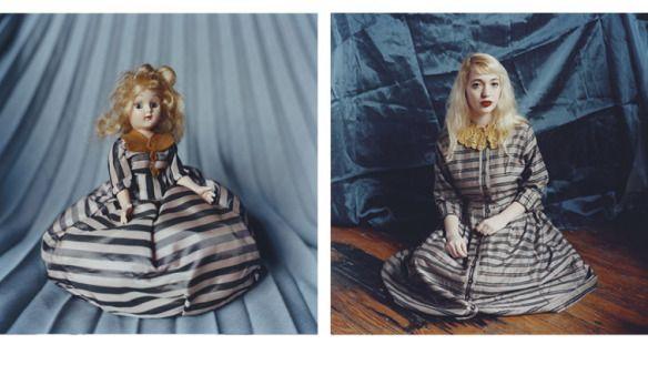 Annie Collinge – Puppenhafte Doppelgänger |