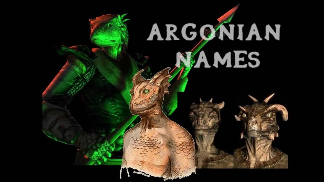 Argonian names argonian name generator ngenerators