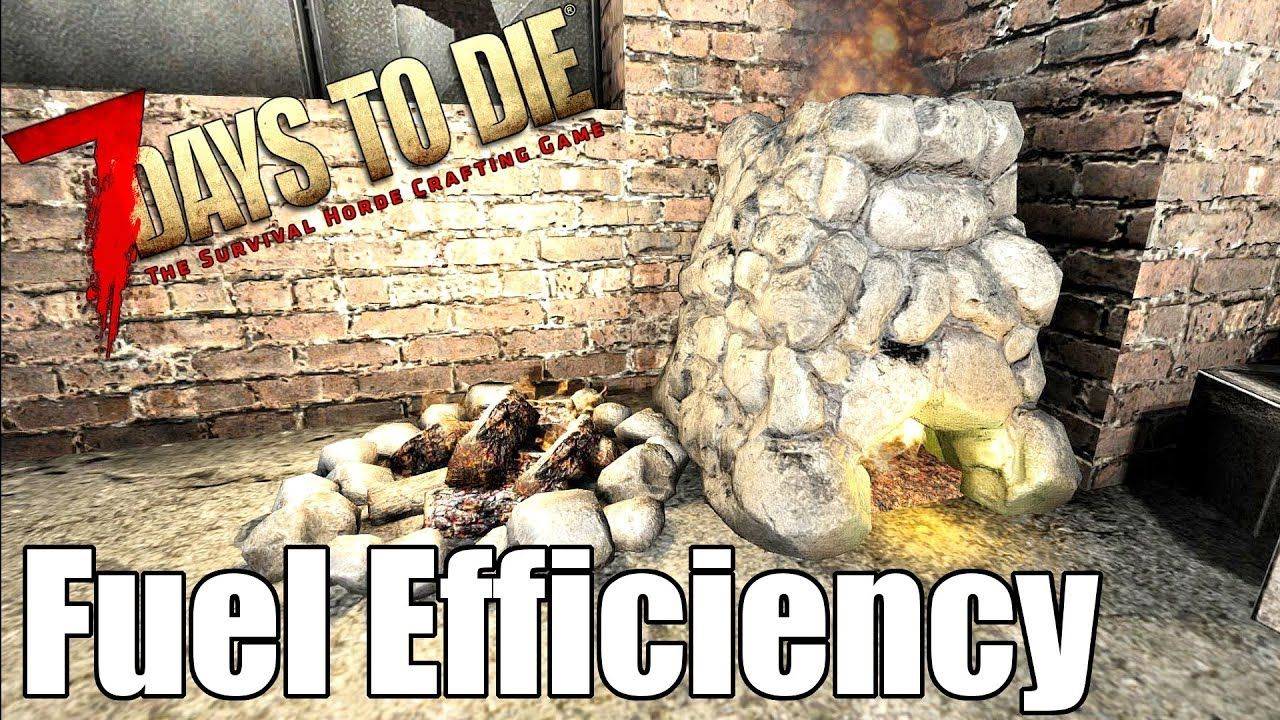 7 Days To Die Most Efficient Fuel For Forges Campfires 7
