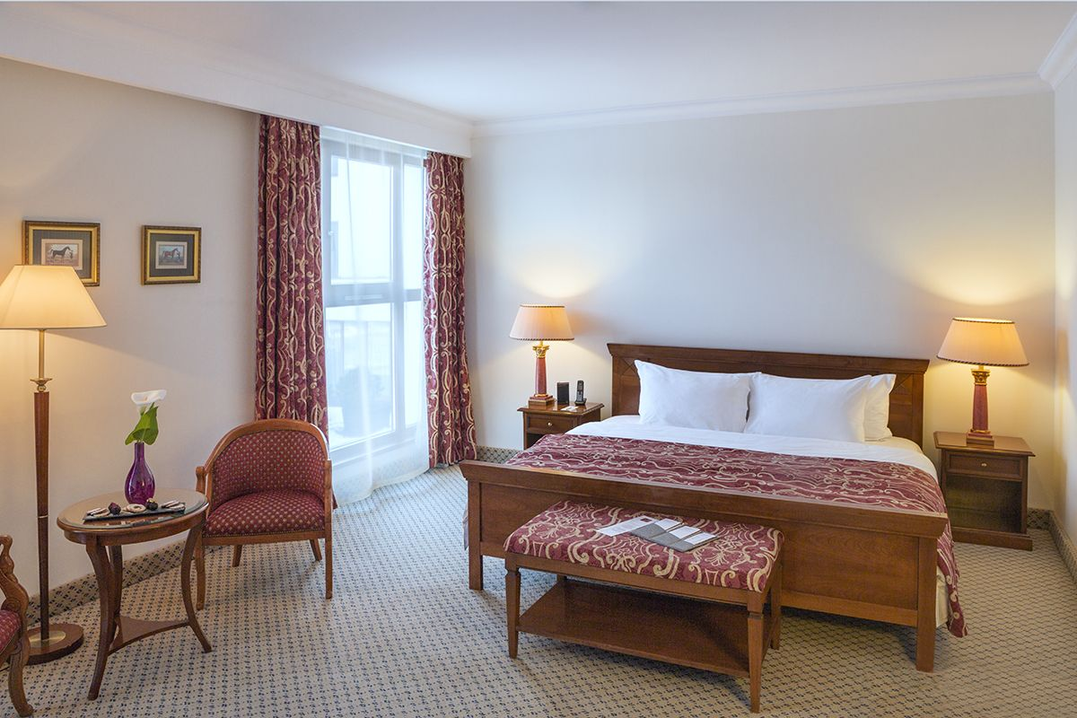 Our Classic Room with double bed sitting