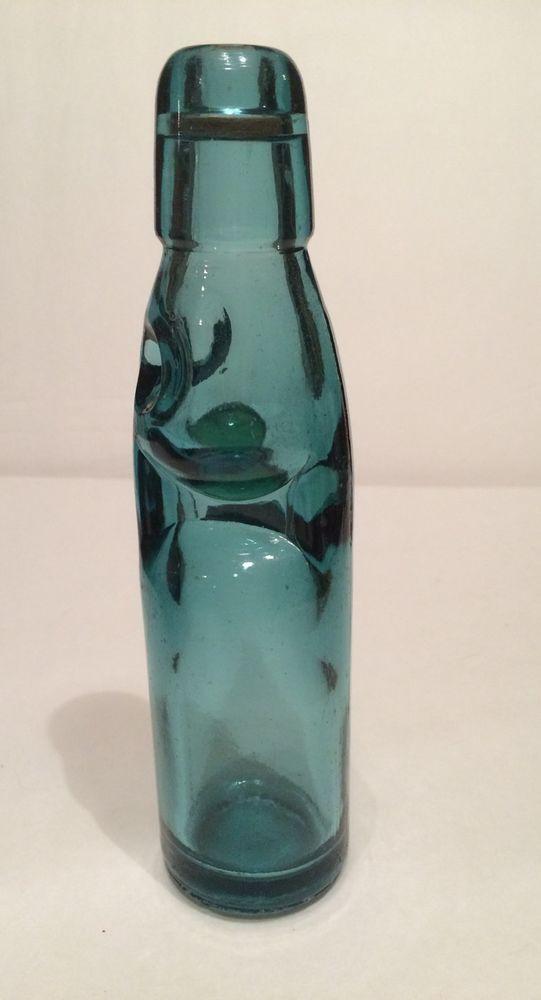 Codd Stopper Green Bottle With Marble In Neck Star On Bottom Ebay Bottle Green Bottle