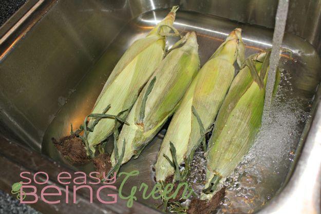 Grill Corn in Husk   Receta   Gluten free   Grilled