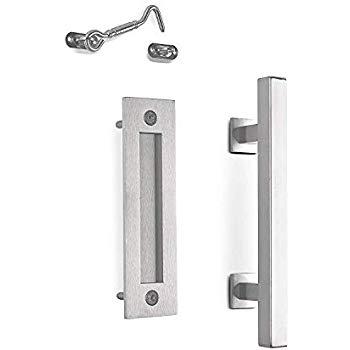 Amazon Com Smartstandard 10 Stainless Heavy Duty Barn Door Pull Handle For Gate Kitchen Furniture Cabinet Cl Door Pull Handles Barn Door Handles Door Handles