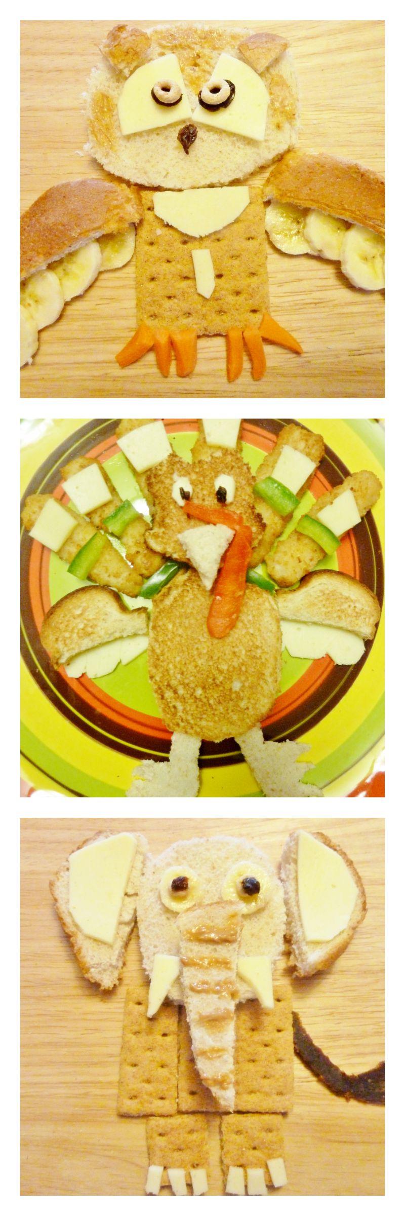 Fun with toddler food art