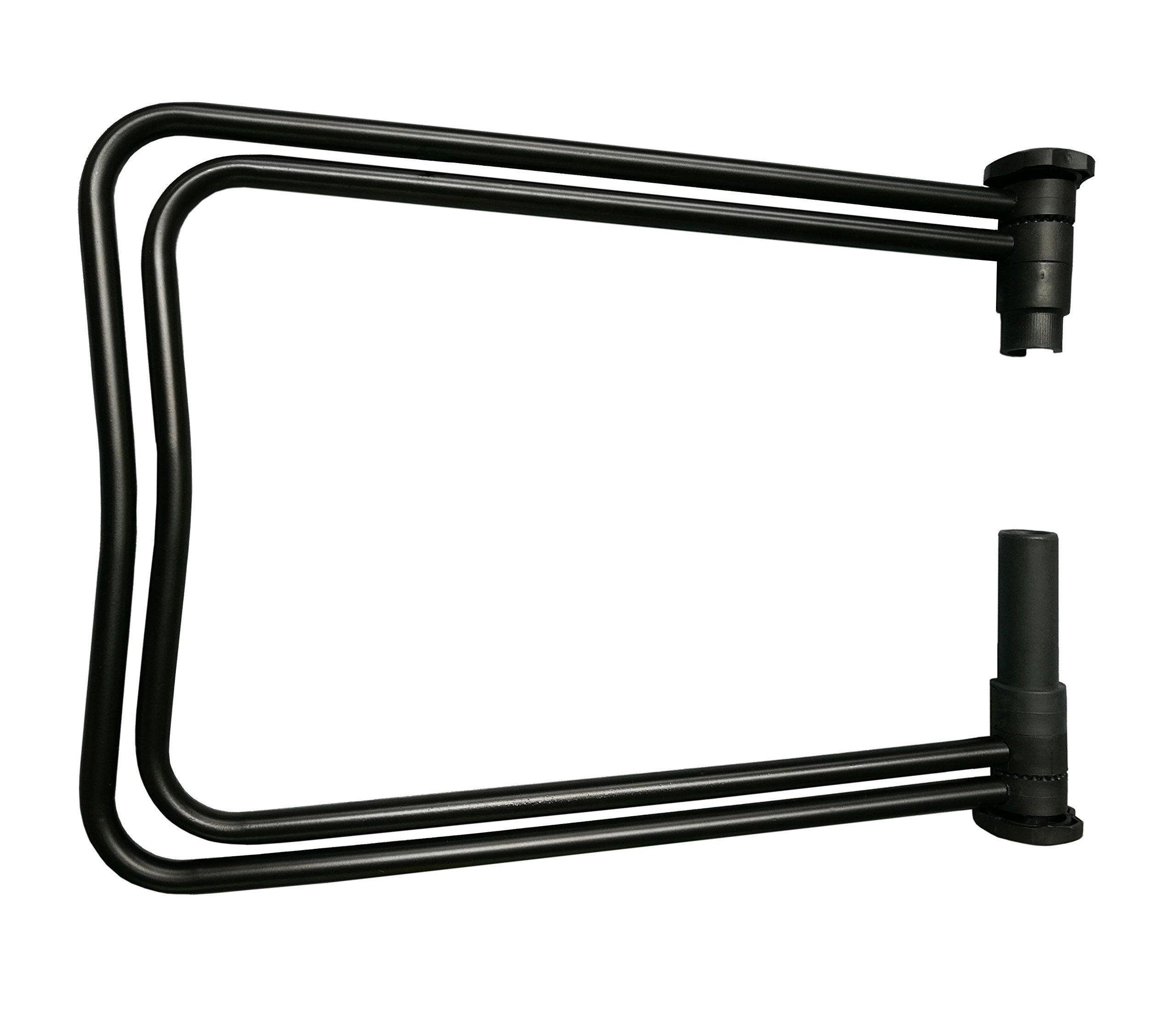 Folding Bike Bicycle Stand Floor Storage Rack Wheel Hub Repair Holder