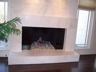 How To Tile Over A Brick Fireplace Brick Fireplace